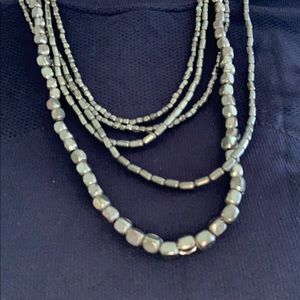 Anthropologie Jewelry - Layered gold necklace